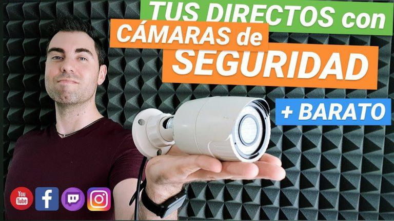 Usar cámaras de vigilancia en OBS