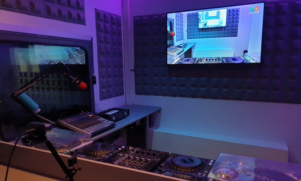 Estudios de streaming para DJs