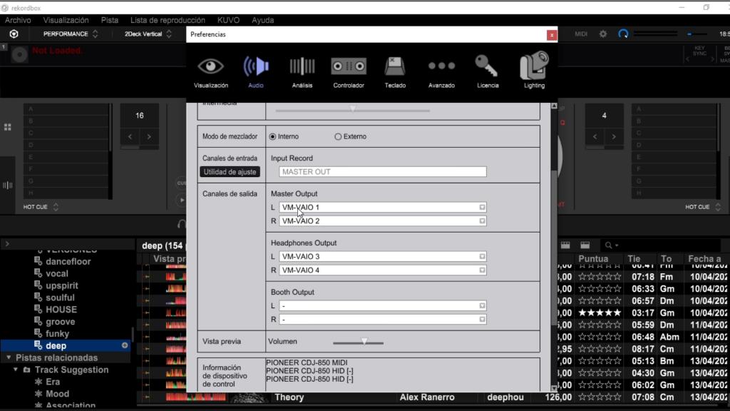 Consecución canales ASIO Voicemeeter