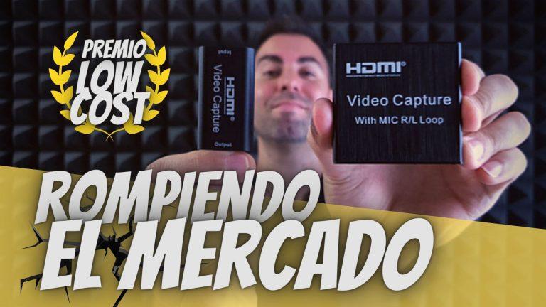 Capturadora HDMI BARATA y versátil