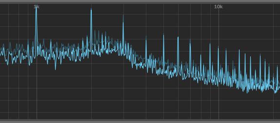 ruido de la interfaz de audio