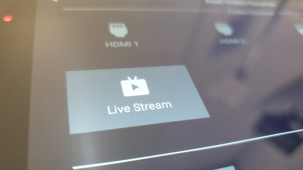 Fuente de vídeo Live Stream