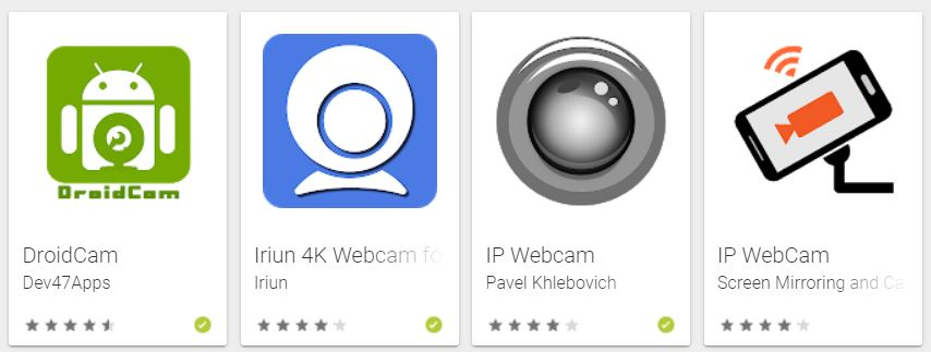 apps de webcam
