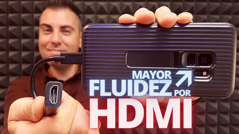 Convertir el móvil en cámara HDMI