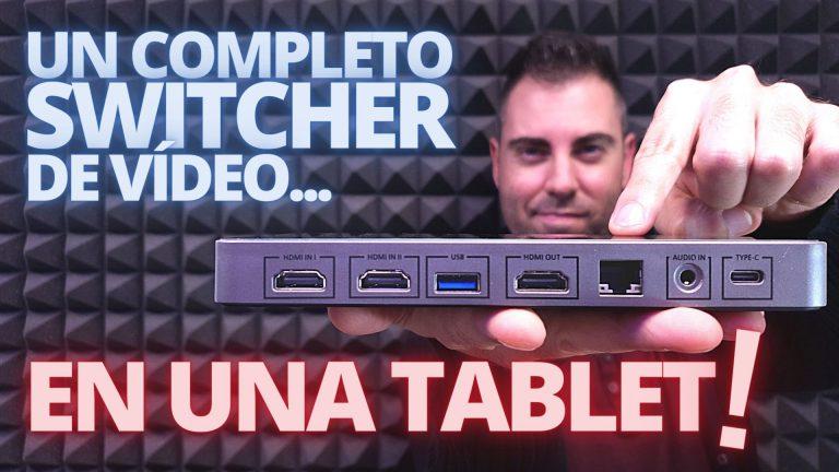 YoloBox, el switcher de vídeo en formato TABLET