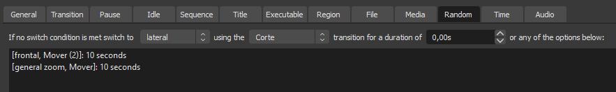 Advanced Scene Switcher random
