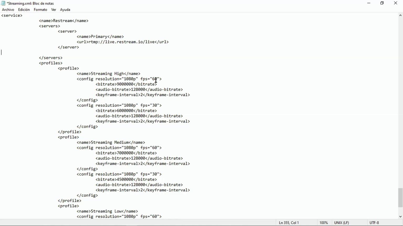 Configurar stream ATEM Mini Pro