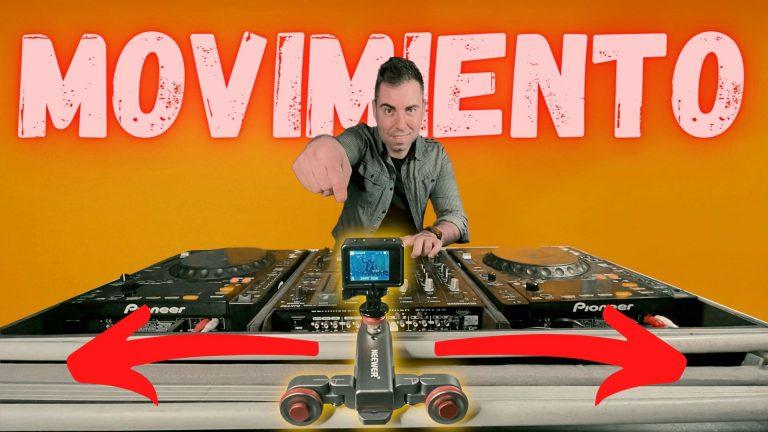 Slider de cámara para DJ – El Autodolly de Neewer