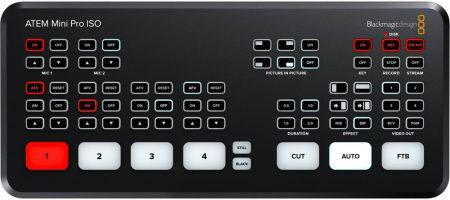 ATEM Mini Pro ISO a prueba